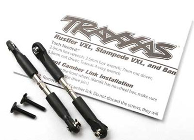 Traxxas Traxxas Turnbuckles Camber Link 39mm, 69mm center to center for Slash