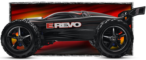 Traxxas E-Revo RC Monster Truck