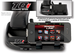 Traxxas Docking base, TQi 2.4 GHz transmitter (iPod/iPhone)