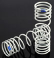 Traxxas progressive Rear Springs, +20% rate blue