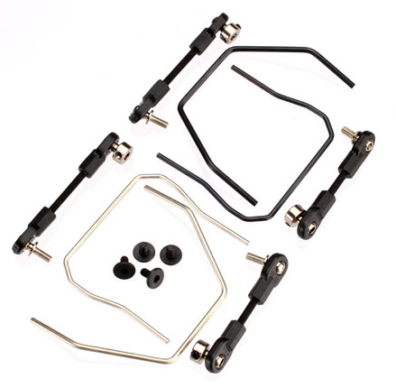 Traxxas Slash 4x4 Sway bar Kit for Front and Rear