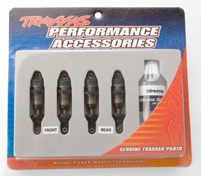 Traxxas GTR Hard Anodized Shock Set for 1/16 E-Revo