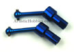 Traxxas LaTrax Aluminum Front and Rear Driveshaft, Blue