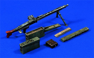 Verlinden 1/16 MG 42 MACHINE GUN Model Kit