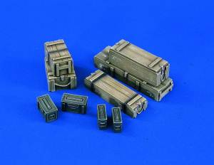 1/16 US Ammo Cases, Model Kit