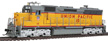 Walthers Proto EMD SD45 #15 Union Pacific diesel locomotive with standard DC