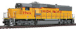 Walthers Proto EMD GP60 Union Pacific diesel locomotive, #1946 with Standard DC