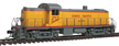 Walthers Mainline DC Alco RS-2 Union Pacific deisel locomotive, #D.S. 1192