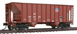 Walthers Mainline HO 34' 100-Ton 2-Bay Hopper, Union Pacific #466345