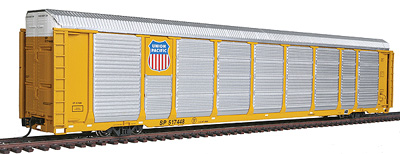 Walthers Proto HO 89' Tri-Level Auto Carrier, Union Pacific #517448