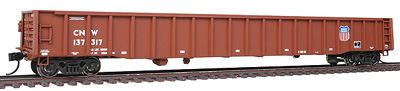 Walthers Proto HO 65' Thrall Mill Gondola, Chicago & North Western #137317