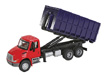 Walthers SceneMaster HO International 4300 Dual-Axle Dumpster Carrier Truck, Assembled